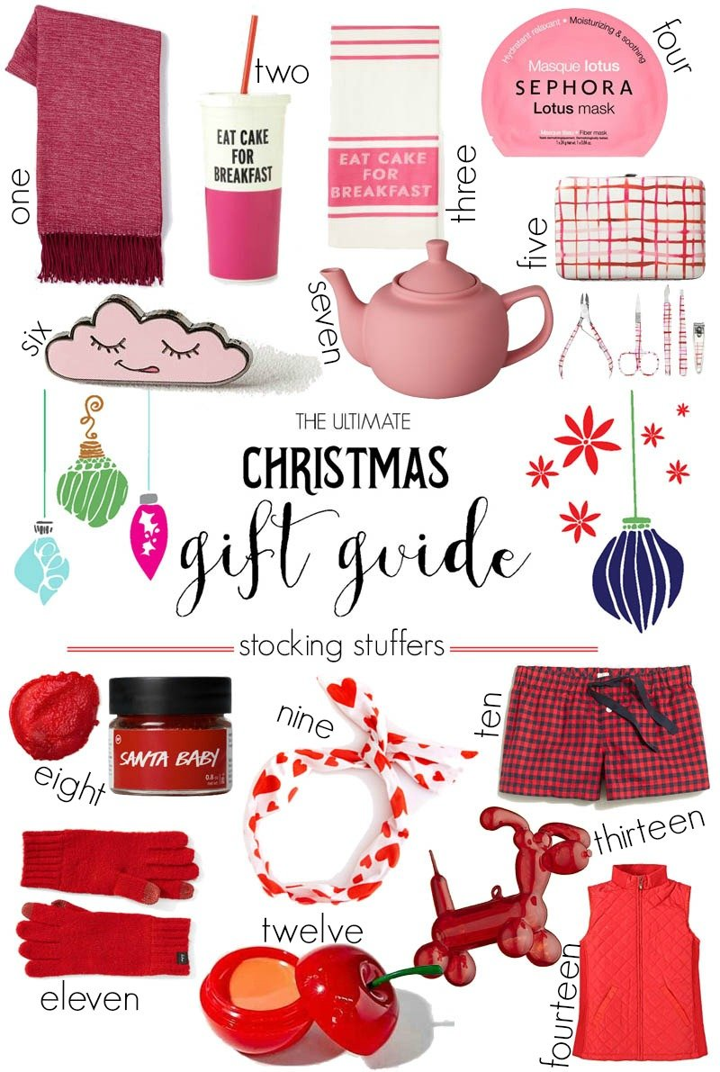 The Ultimate Christmas Gift Guide Stocking Stuffers