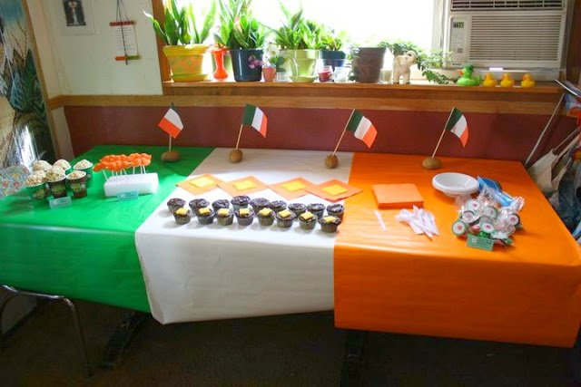 Real Party Irish Welcome Home Happy Birthday Party Revel And Glitter