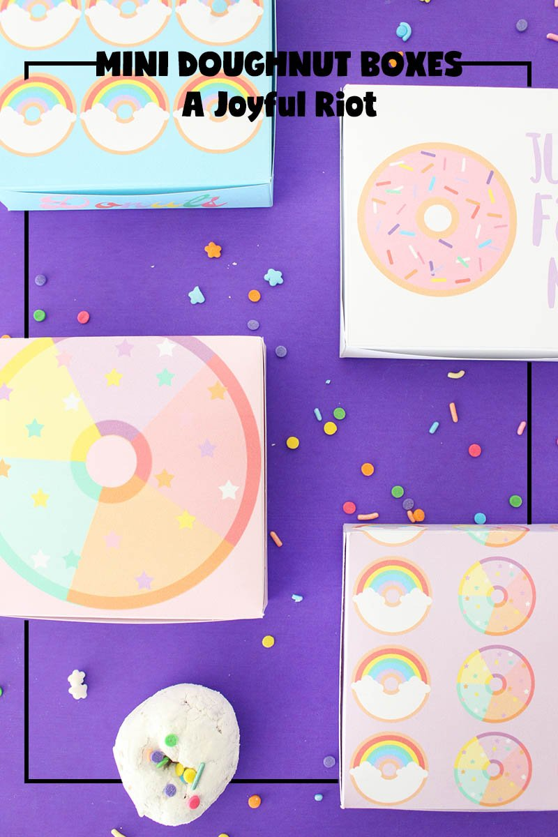 National Doughnut Day; mini doughnut boxes