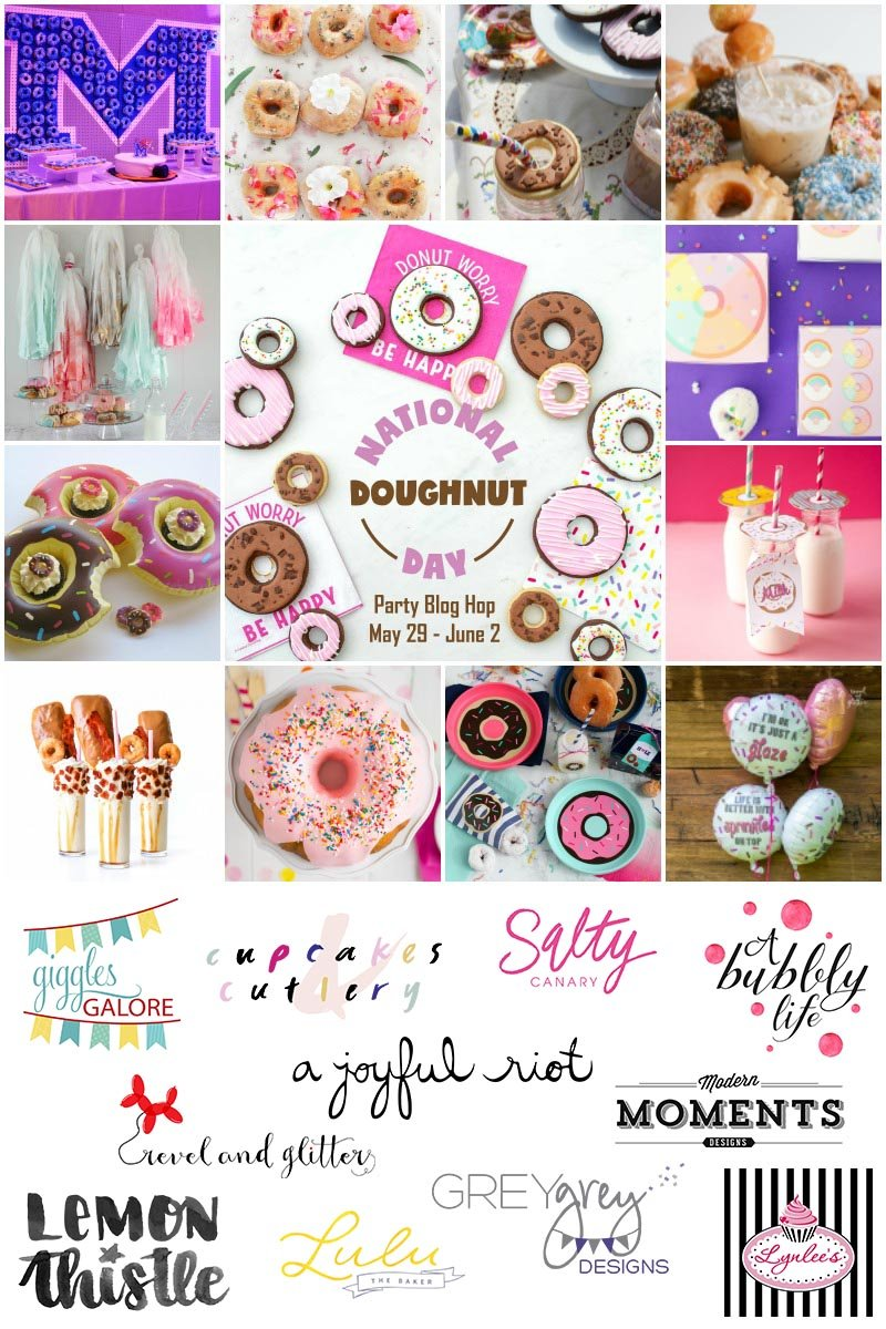 Celebrating National Donut Day with a week long blog hop!